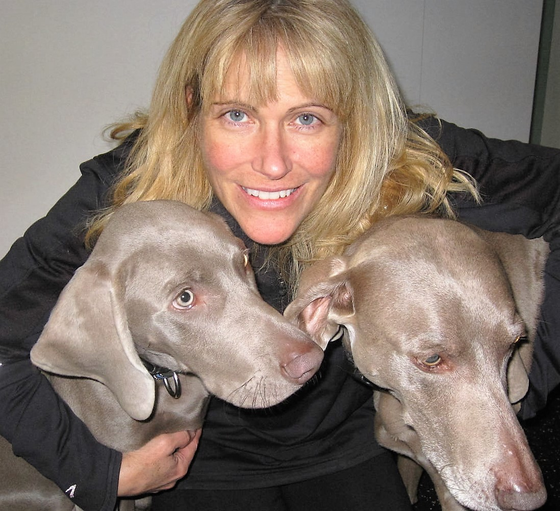 """SANDRA M. BLICKSTEAD-MUTH    Sandra has been a Registered Massage Therapist in Kemptville for twenty years. She specializes in Active Release Techniques, Bioflex Laser and Graston Techniques. When not at the clinic Sandra can be found in the Ferguson Forestry Centre with her two Weimaraners. She is also a strong """"supporter of our troops"""" (especially one of them)."""
