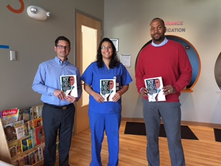 Publisher Kellen E. Brandon and Brandon Publishing donate books to youth at Flint's Hurley Children's Center. Books are provided for the 9,000 Flint youth that were effected by the Flint Water Crisis.