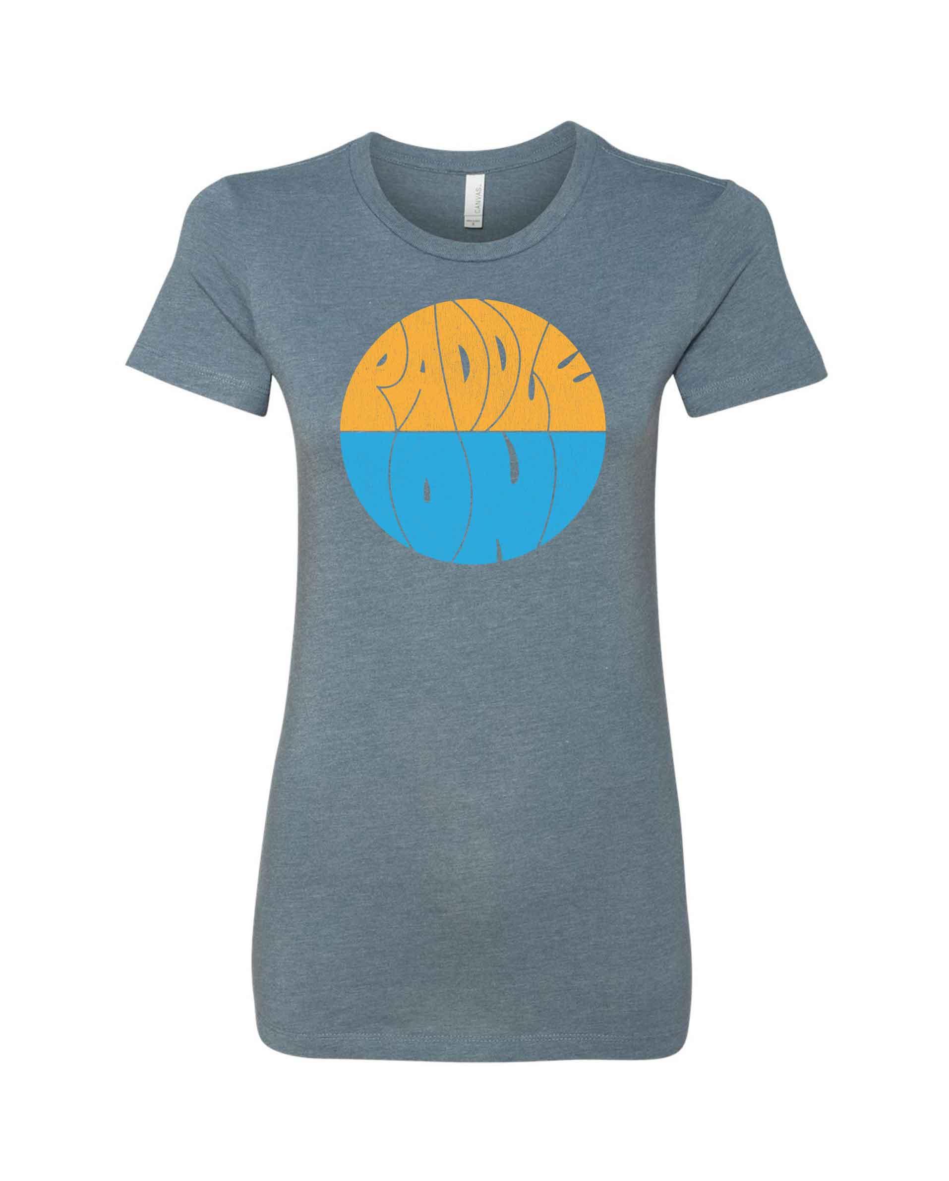 LakeLuster_Tshirts_PaddleOn_Ladies_6004_HeatherSlate_A.jpg