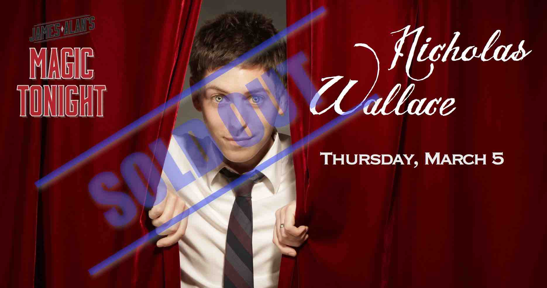 Mar 5 Wallace Sold out