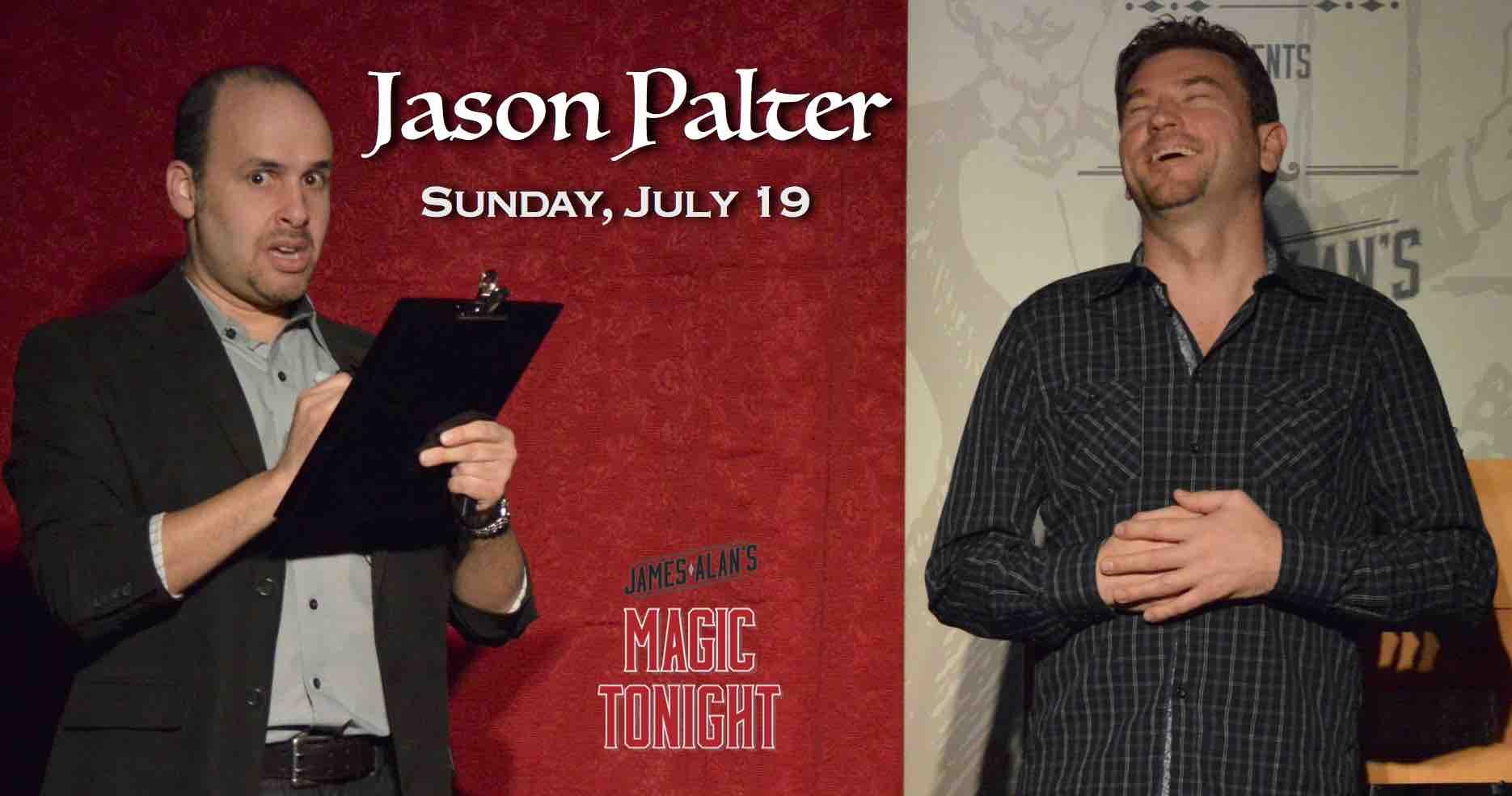 July 19 Jason Palter