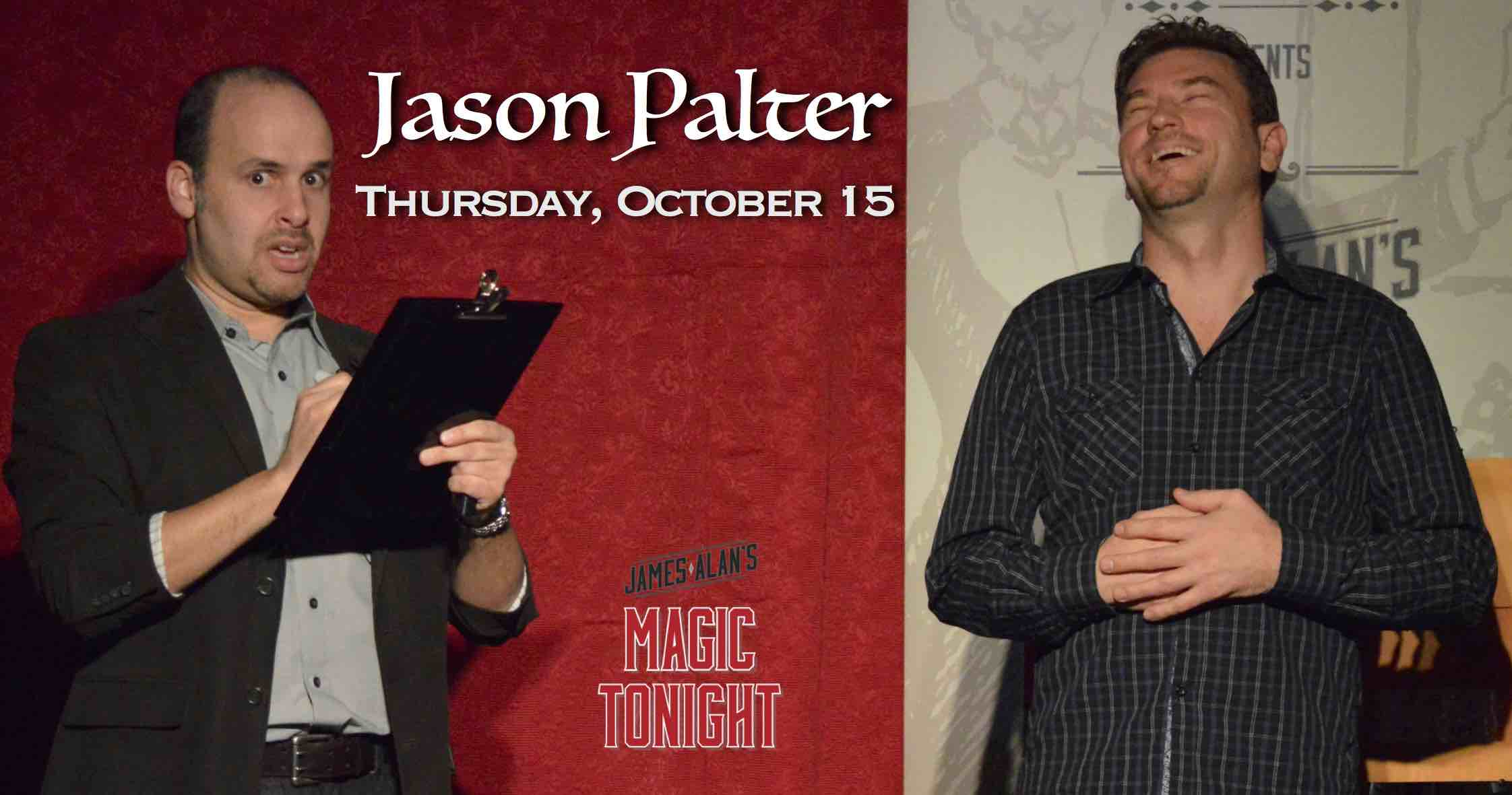 October 15 Jason Palter