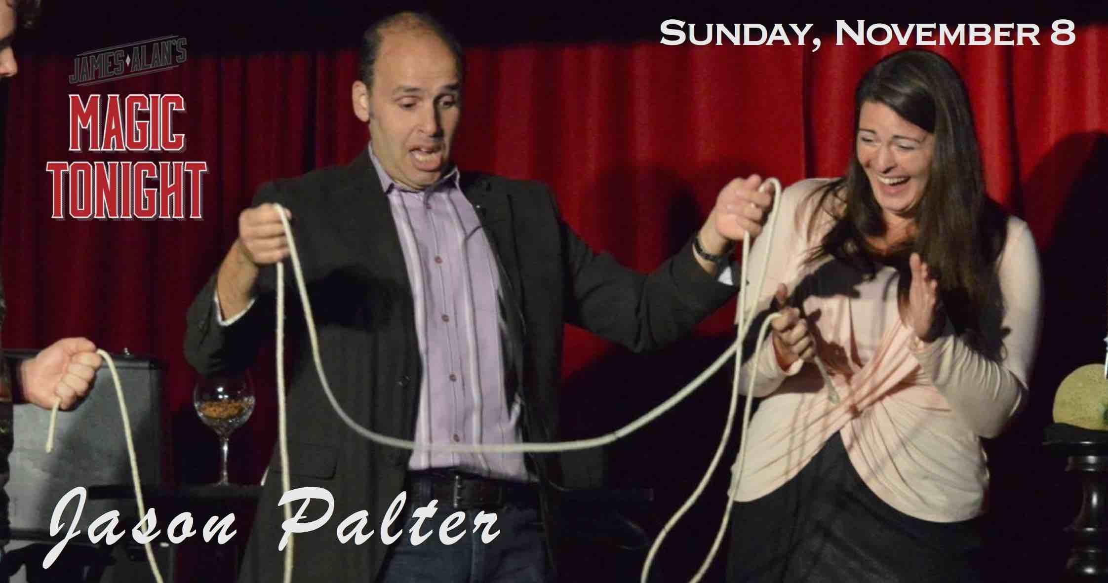 November 8 Jason Palter