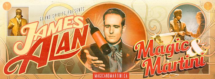 Magic & Martini Banner