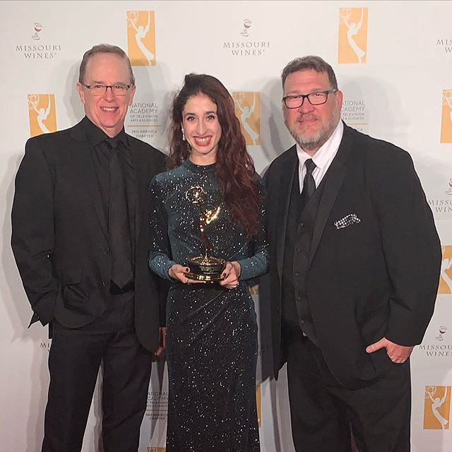 What a great evening. Can not believe I won an Emmy for a documentary film I shot with KC Ballet.  We beat a film with over a million dollar budget. Just me and a camera. This one is special. Truly don't want the night to end.