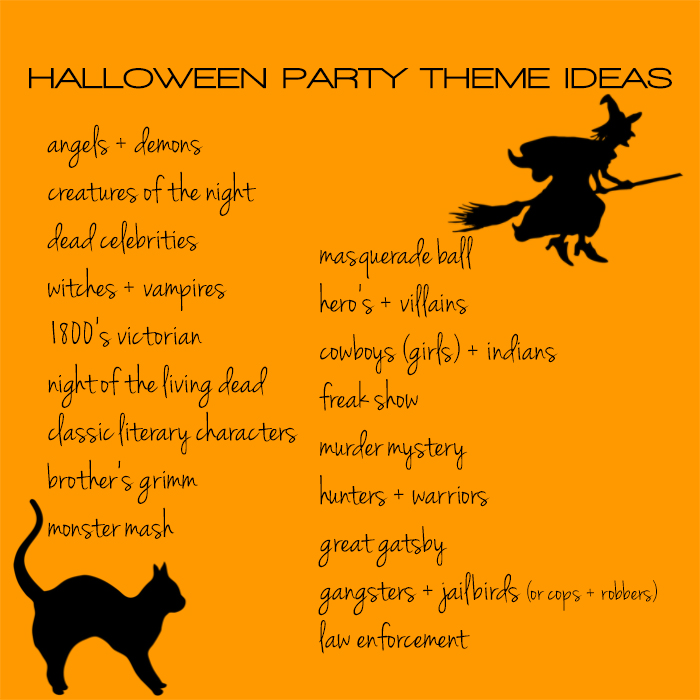 halloween party theme ideas insolence + wine