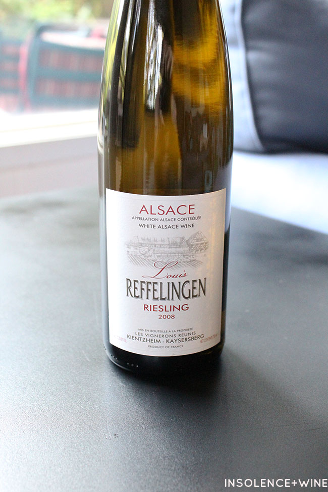 Riesling insolence+wine