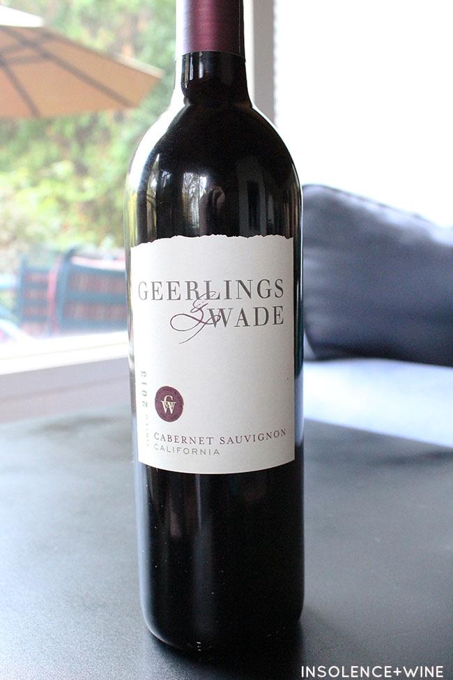 Cab insolence+wine