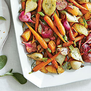 Roasted Root Vegetables via  Southern   Living