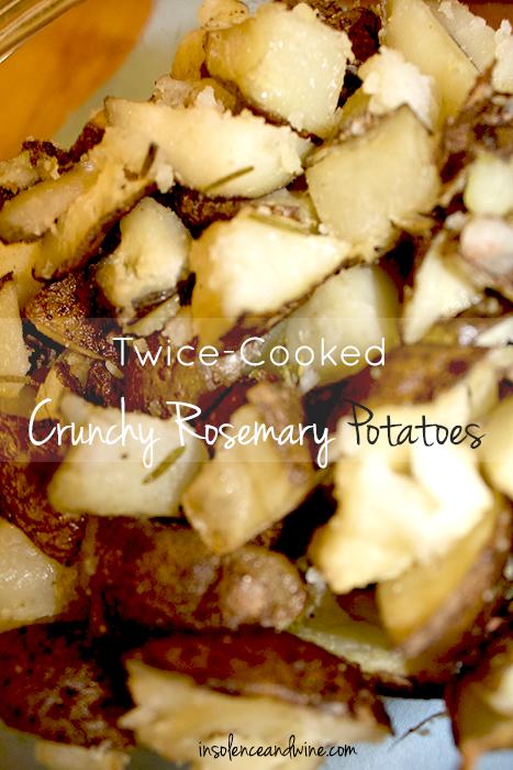 crispy rosemary potatoes