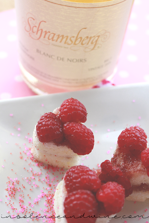 valentines day cakes insolence + wine
