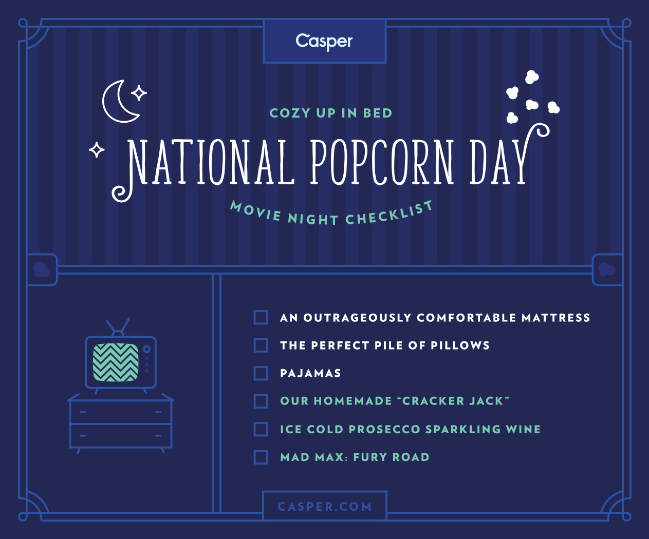 national popcorn day insolence + wine