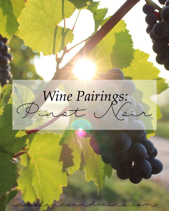 pinot noir food & wine pairings insolence + wine