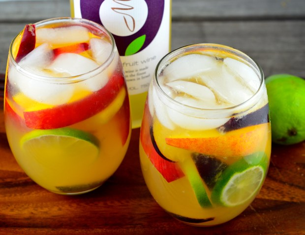 Summery Passion Fruit Sangria