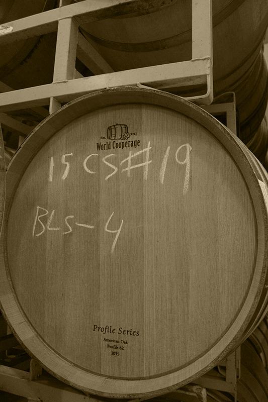Maturing Wine