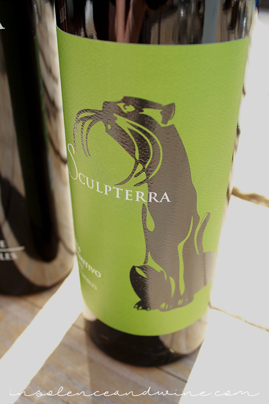 Sculpterra Primitivo paired with slow cooker pineapple chicken insolence + wine