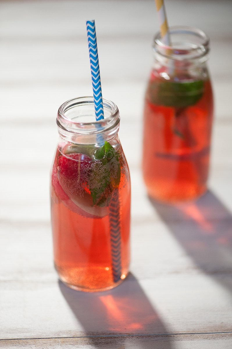 Berry Minted Iced Tea