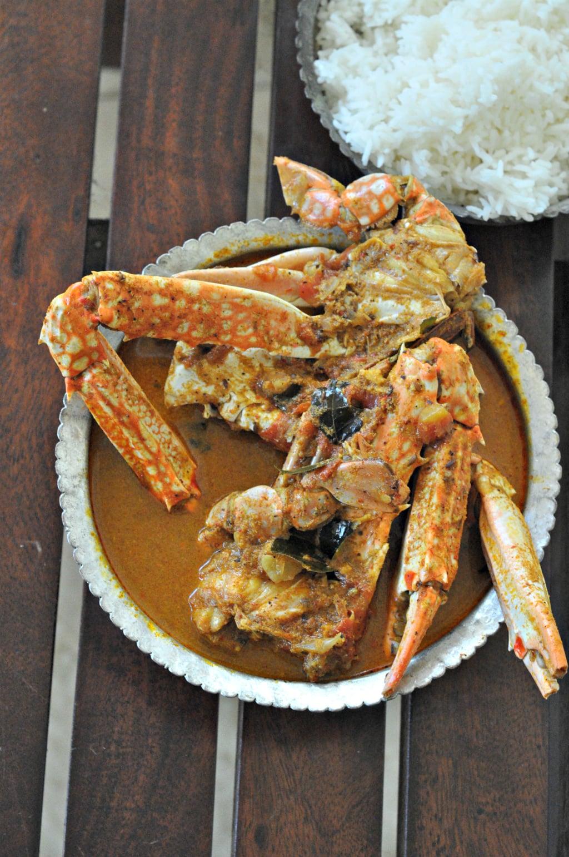 Chettinated Crab Curry