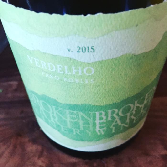 Verdelho Paso Robles Summer Wine insolence + wine