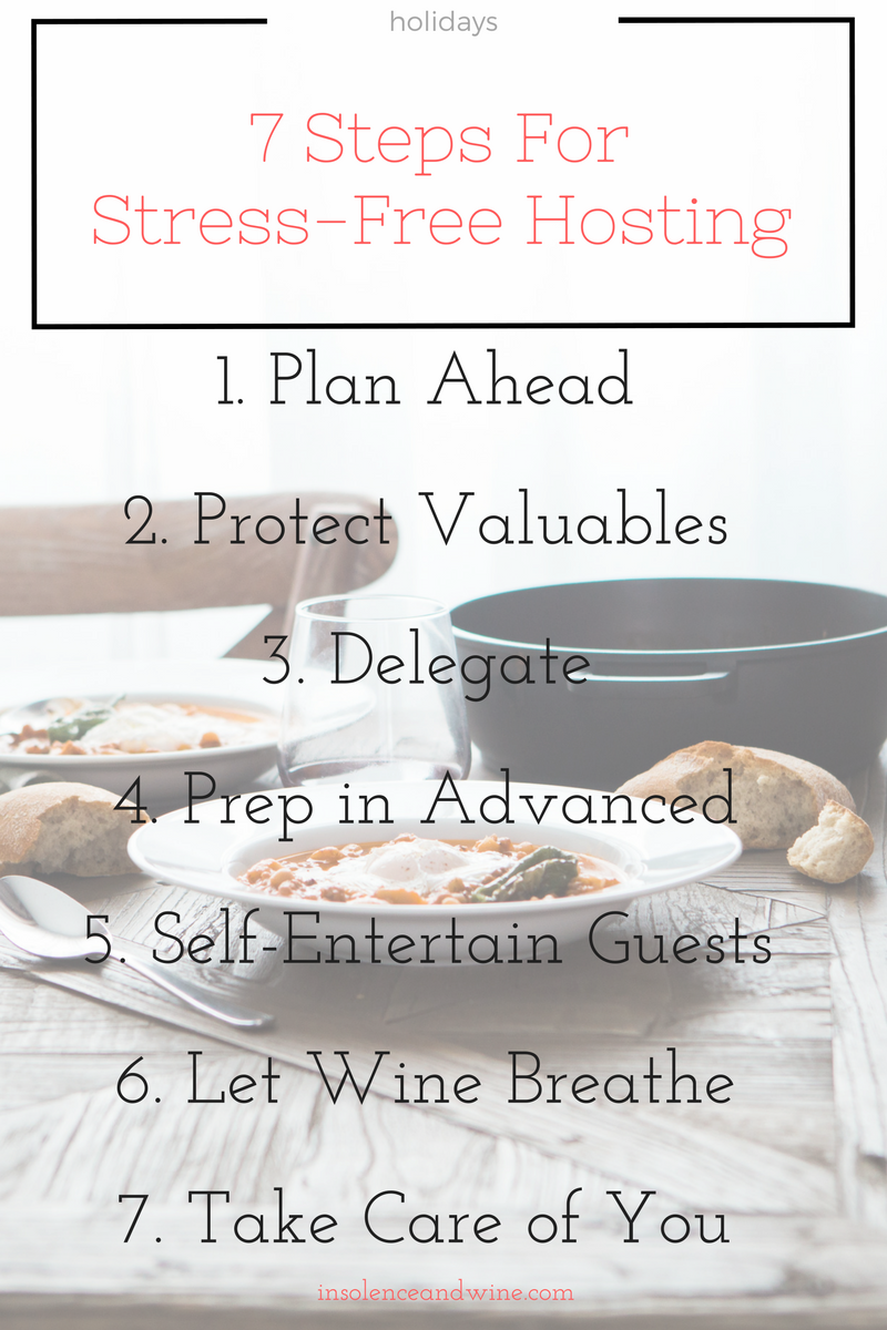 7 Steps For Stress Free Hosting