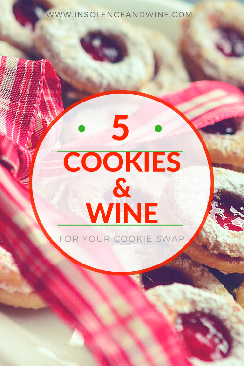 Cookie Wine Pairing Cookie Swap Party insolence + wine