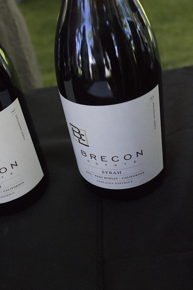 Brecon Estate Syrah Paso Robles Wine Fest Review 2017