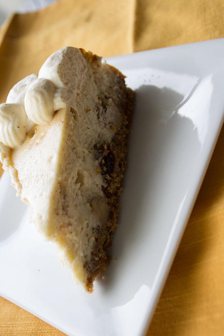 Apple Harvest Cheesecake Thanksgiving Dessert