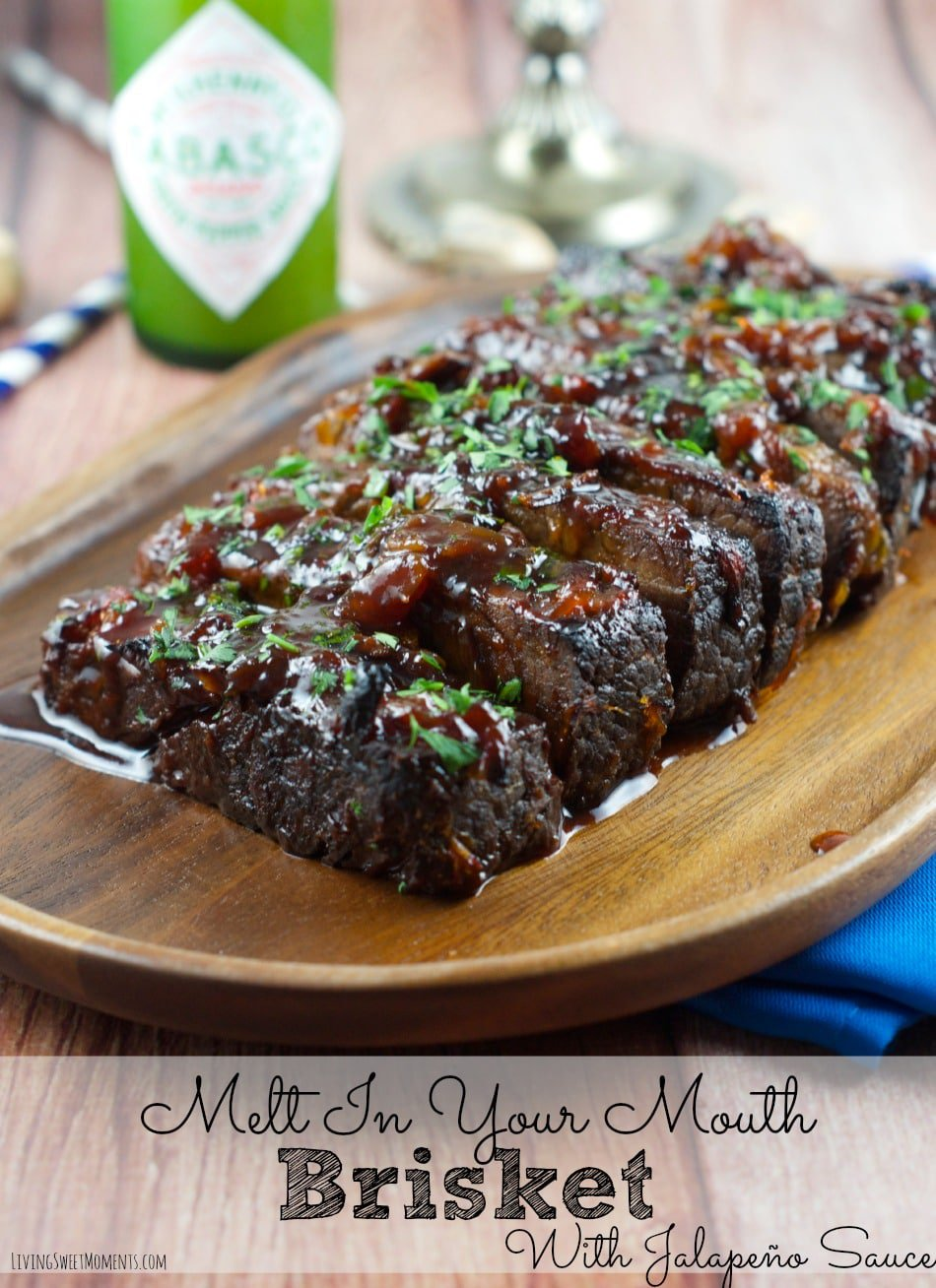 In a lot of Jewish families, brisket and Hanukkah seem to go hand in hand, and this version from  Living Sweet Moments  with a jalapeño sauce is something I need to try out.