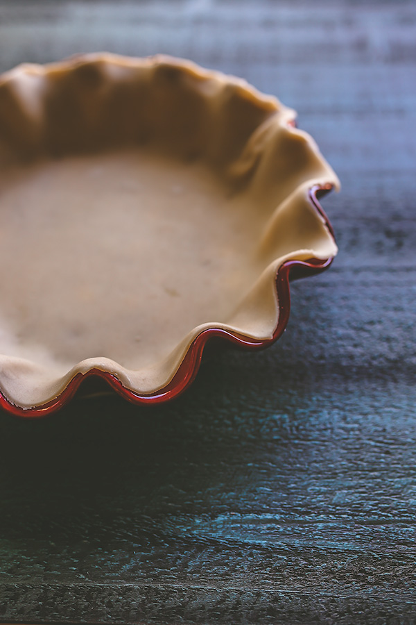 Basic, good for almost anything pie crust. | insolenceandwine.com