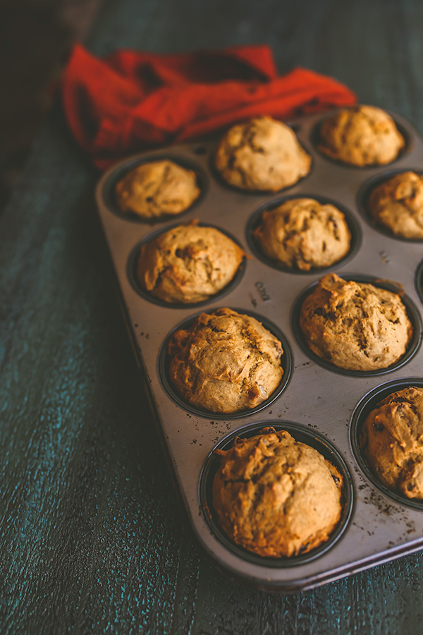Pumpkin cranberry muffins are a perfect breakfast treat throughout the fall. | insolenceandwine.com