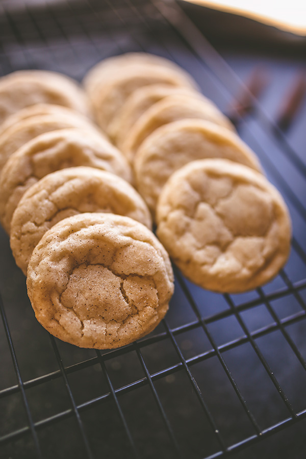 Perfectly soft but chewy snickerdoodles. | insolenceandwine.com