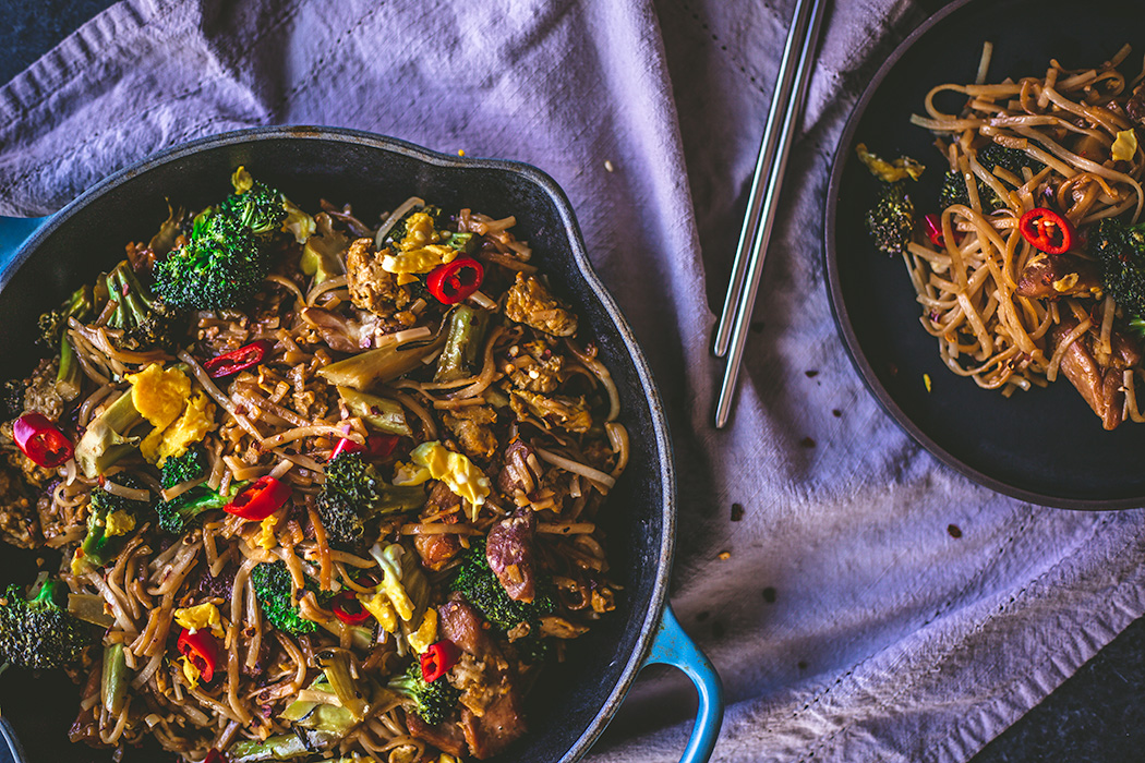 A fast, satisfying chicken and broccolini stir fry.