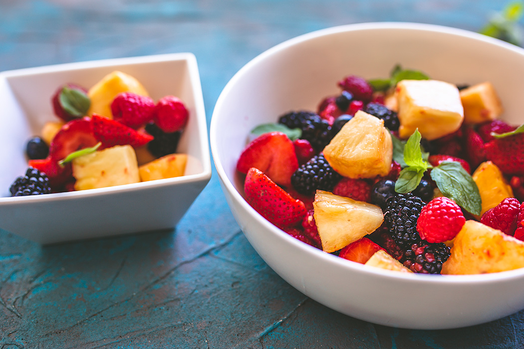 Rum-soaked summer fruit salad is the must-make salad this summer.