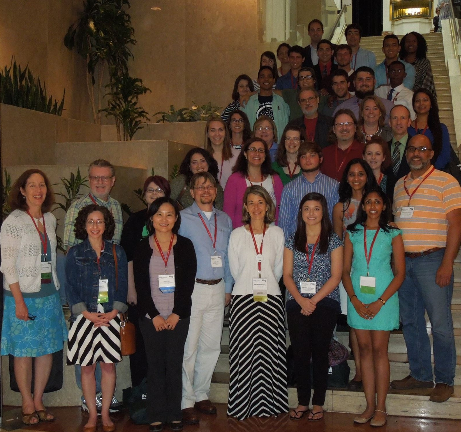 Student and faculty at SWI's 2015 Symposium at ASMCUE in Austin, TX.