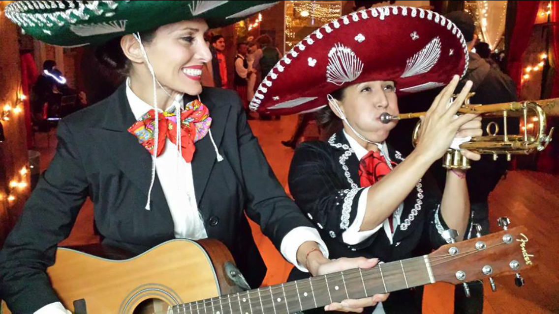 Hire this Paleo Cookie Mariachi Duo for your next event!