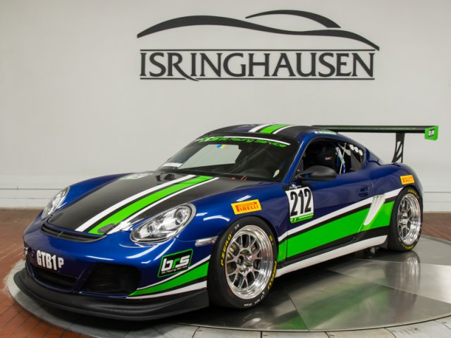 2011 Porsche Cayman S Race Car \u2014 Isringhausen Motorsports