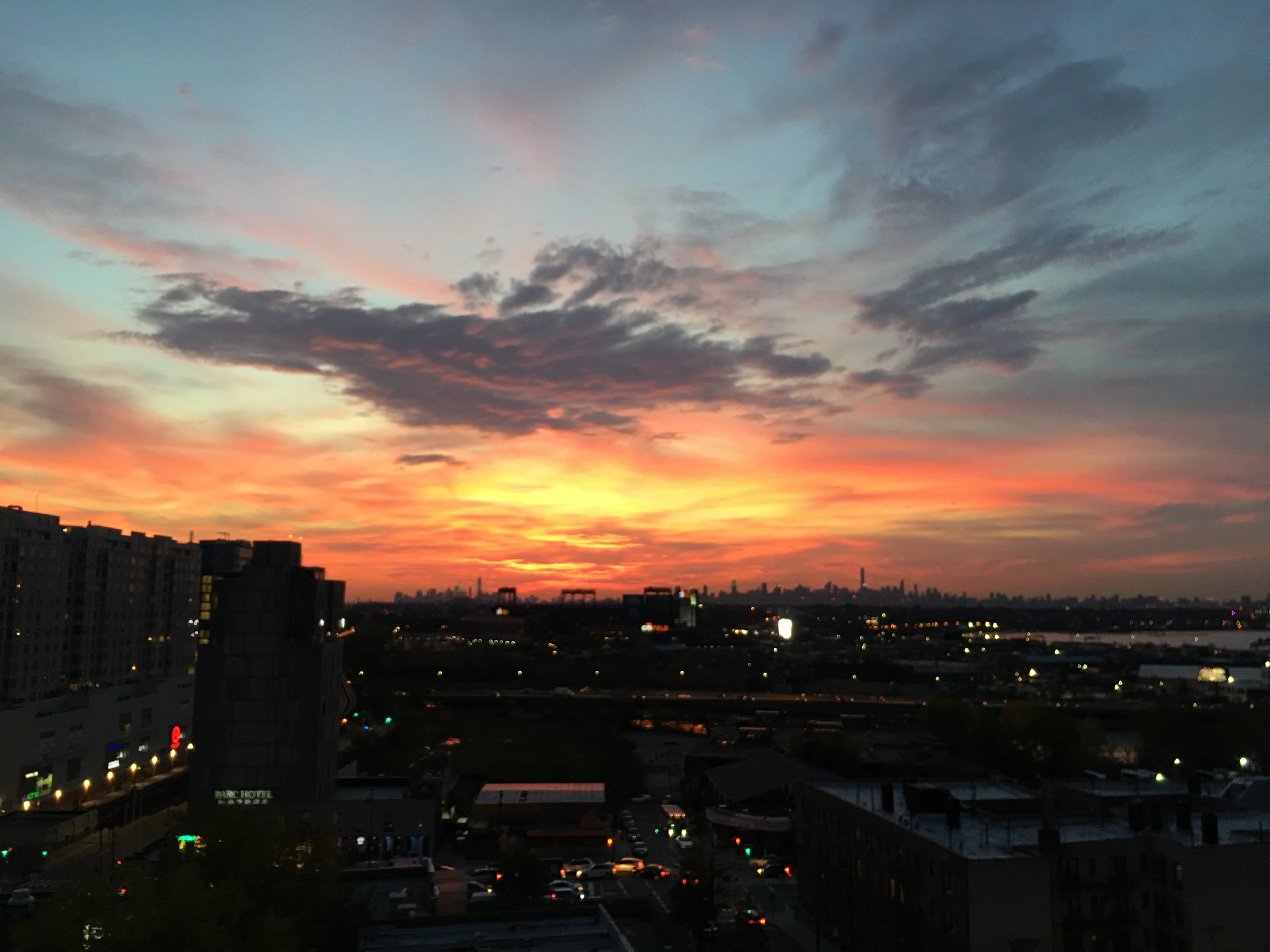 ENJOY THE VIEW FROM OUR ROOFTOP - The sunsets are spectacular.