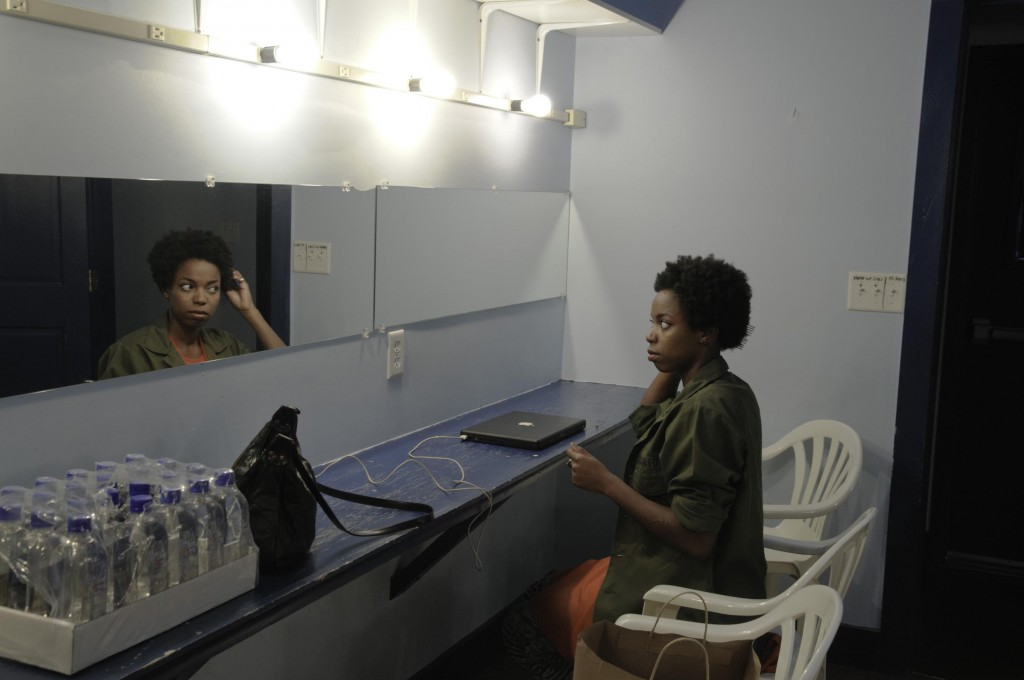 Sasheer Zamata in the calm before the storm