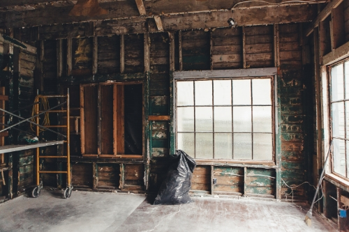 """""""Standing inside the vacant walls, I felt an instant connection,"""" explains Brimmer & Heeltap's proprietress Jen Doak, of the old studio space."""