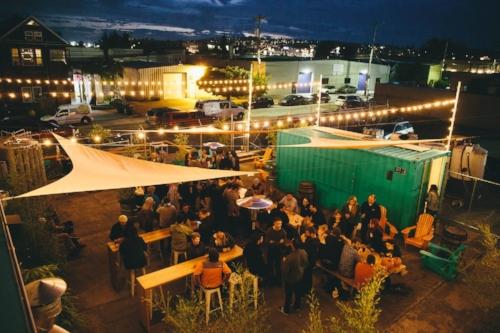 Stoup's beautiful beer garden is an amazing neighborhood gathering place. Image via  Facebook .
