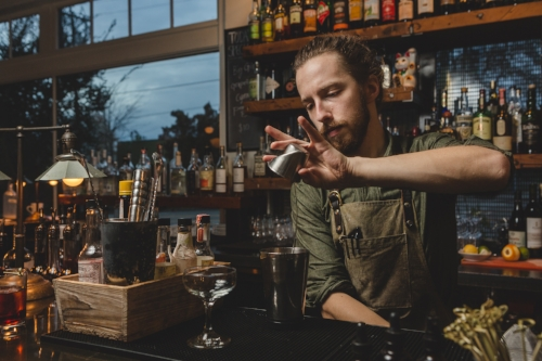 We can't get enough of the drinks bartender Brian Hibbard has been concocting lately!