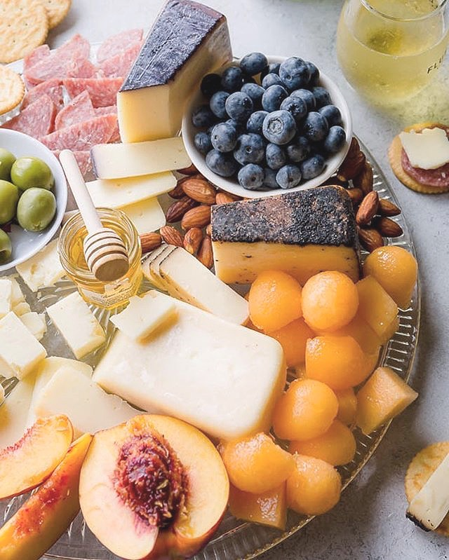 Create the ultimate summer cheese board with special selections from The Roving Cheesemonger!