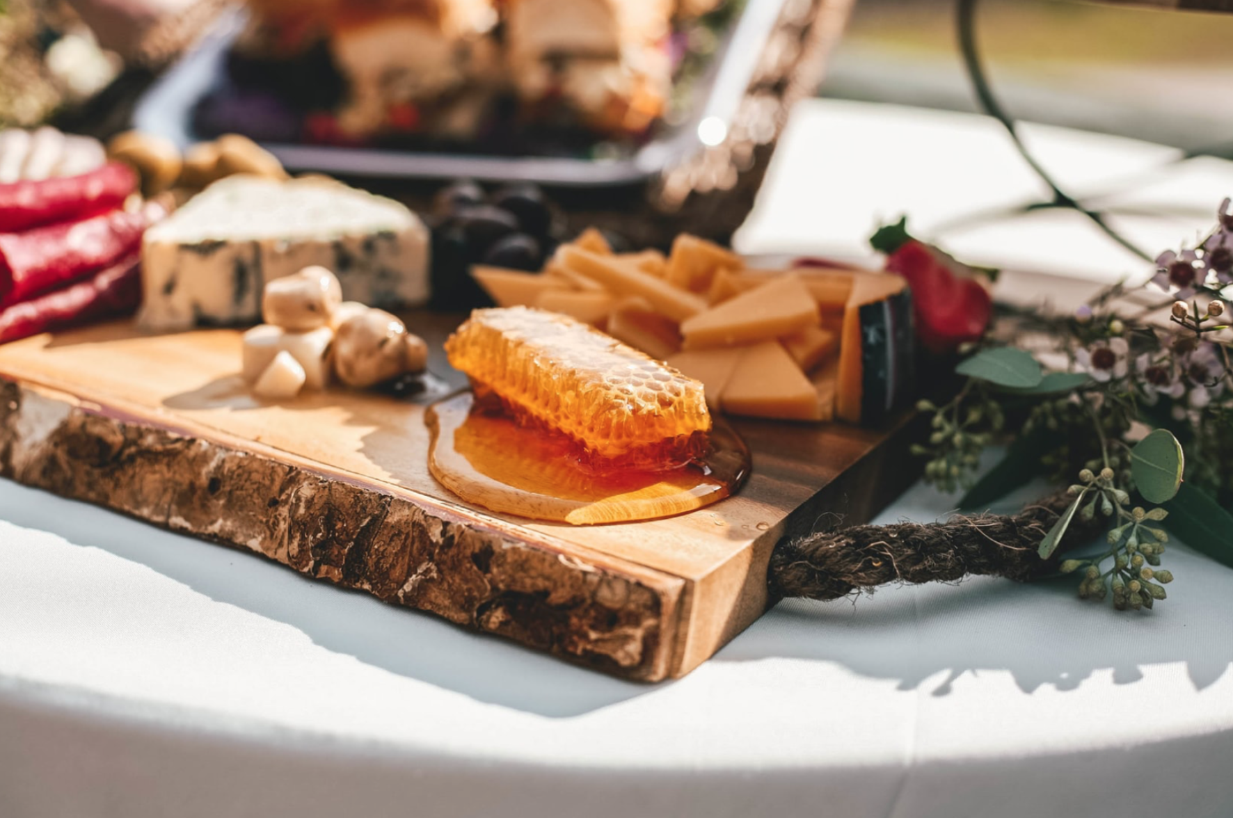 Create the ultimate autumn cheese board with special selections from The Roving Cheesemonger!