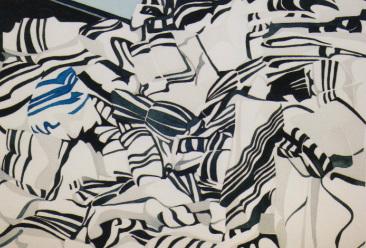 """Tallesim"", watercolour on paper, 11x14"""