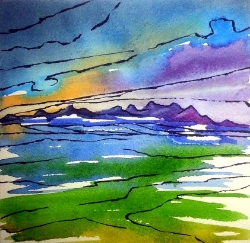 Watercolour markers & paint... #7