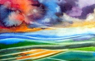 """Back on the Prairies.. 4x6""""  SOLD  #13"""