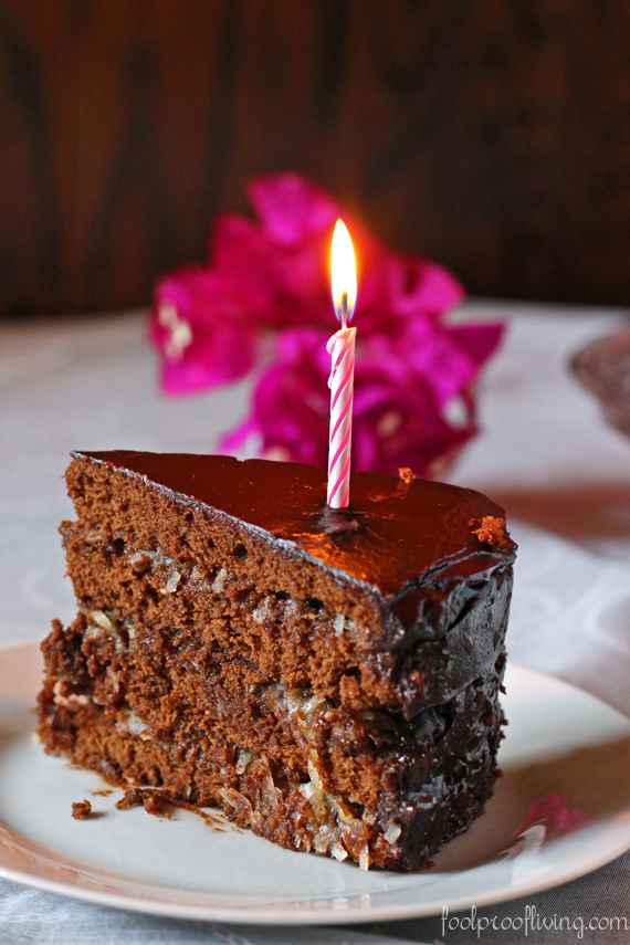 lifeisaprettyword.com, You know how it feels. One minute you're enjoying a beautiful wedge of chocolate layer cake with that special someone and the next, it's gone.