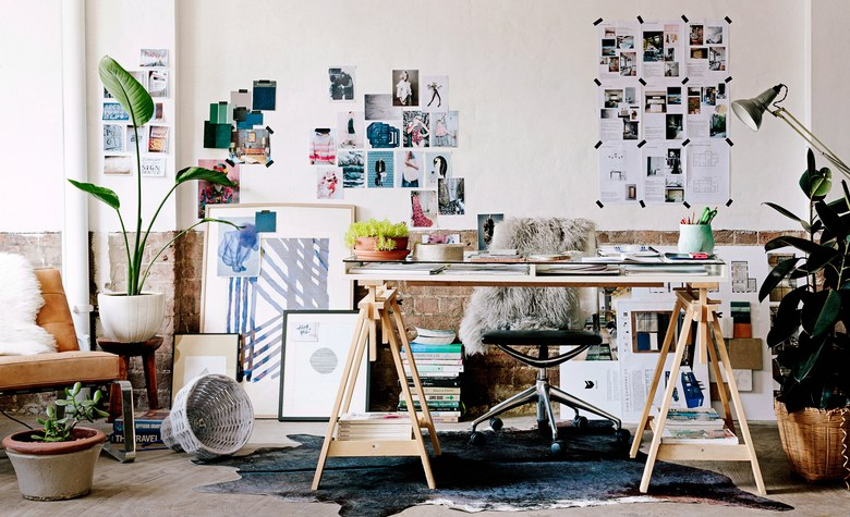 VOGUE: How to Create a Chic Home Office