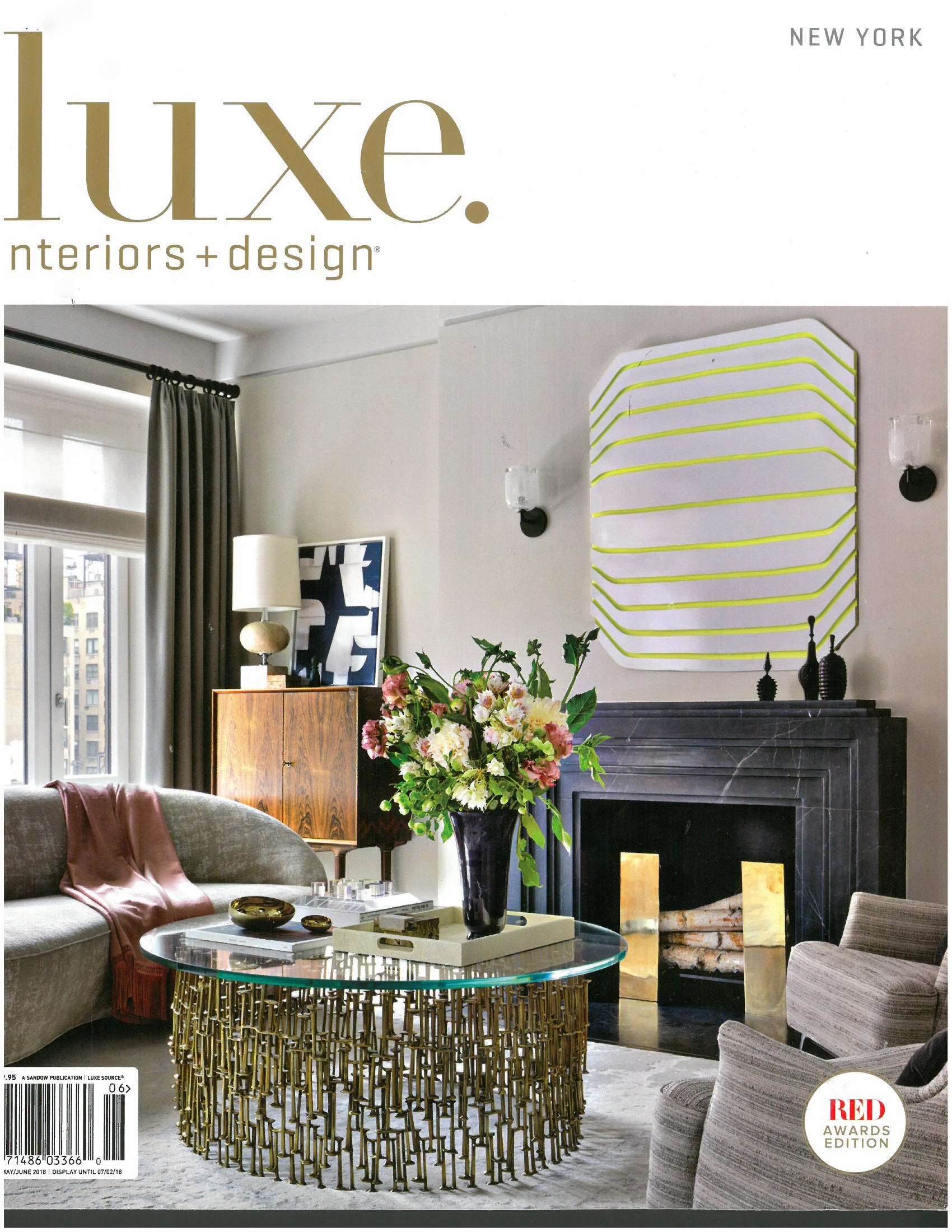 Luxe Interiors + Design, Cover Story