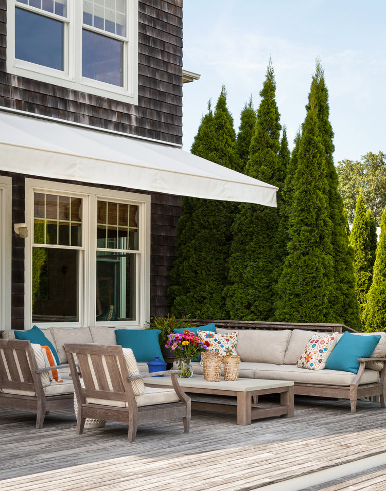 LuxDeco: Outdoor Living Space Ideas